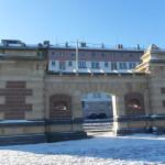 Antigo portão medieval em Mainz