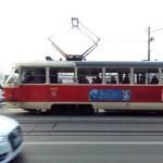 O tram na europa oriental