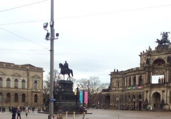 Dresden no ano novo