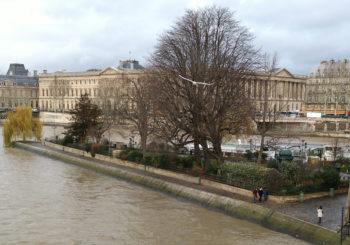 Paris no inverno. Linda em toda estação!