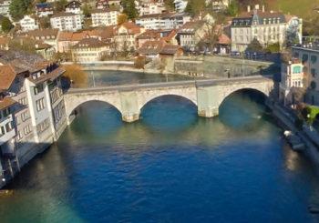 As cidades de Bern e Basel na Suiça