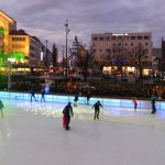 Patinação de gelo Karlsplatz
