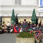 Alemaes brindam ao Natal e ao sol