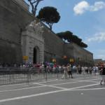 Vaticano, Muros e Entrada