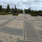 Parque em frente ao Museu dos Jeronimos