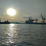 Passeio de barco no Porto de Hamburgo