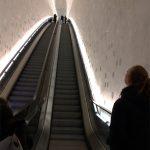 Escada rolante da Filarmônica de Hamburg